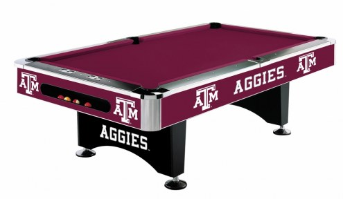 Texas A&M Aggies College Pool Table