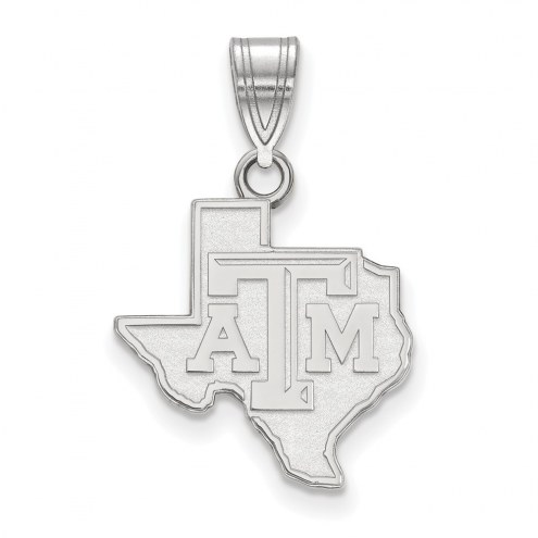 Texas A&M Aggies Sterling Silver Medium Pendant