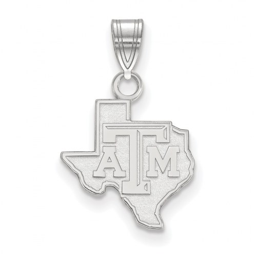 Texas A&M Aggies Sterling Silver Small Pendant