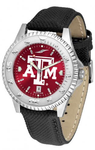 Texas A&M Aggies Competitor AnoChrome Men's Watch
