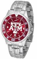 Texas A&M Aggies Competitor Steel AnoChrome Color Bezel Men's Watch