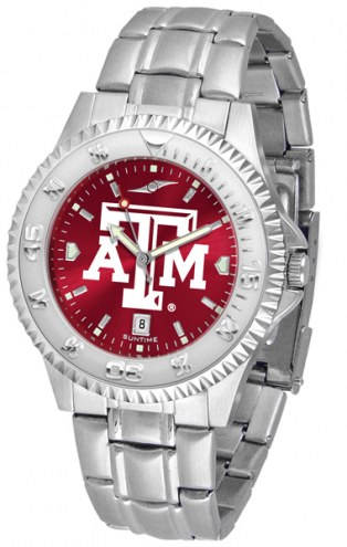 Texas A&M Aggies Competitor Steel AnoChrome Men's Watch