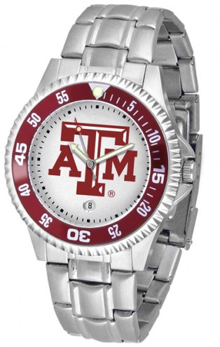 Texas A&M Aggies Competitor Steel Men's Watch