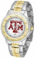 Texas A&M Aggies Competitor Two-Tone Men's Watch