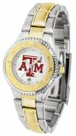 Texas A&M Aggies Competitor Two-Tone Women's Watch