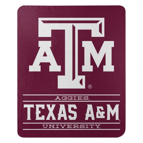 Texas A&M Aggies Control Fleece Blanket