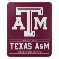 Texas A&M Aggies Control Fleece Blanket
