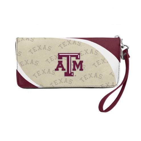 Texas A&M Aggies Curve Zip Organizer Wallet