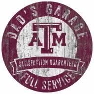Texas A&M Aggies Dad's Garage Sign