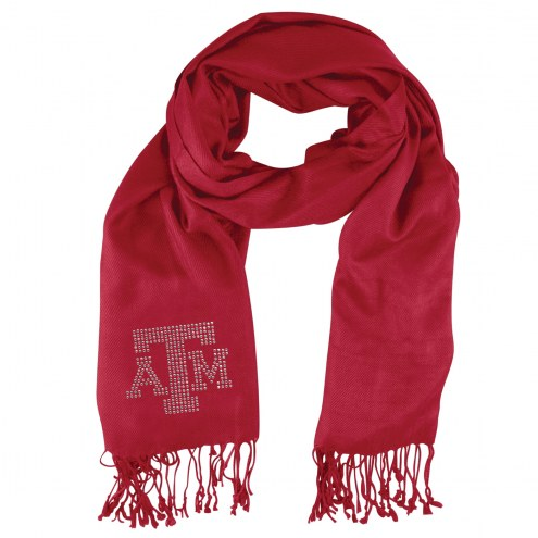 Texas A&M Aggies Dark Red Pashi Fan Scarf