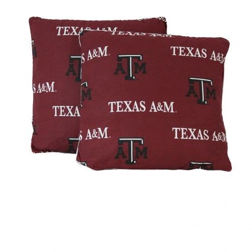 Texas A&M Aggies Decorative Pillow Set