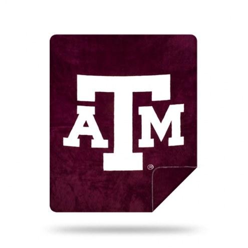 Texas A&M Aggies Denali Sliver Knit Throw Blanket