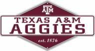 Texas A&M Aggies Diamond Panel Metal Sign