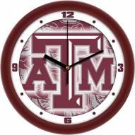 Texas A&M Aggies Dimension Wall Clock