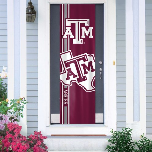 Texas A&M Aggies Door Banner