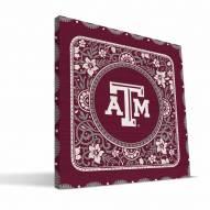 Texas A&M Aggies Eclectic Canvas Print