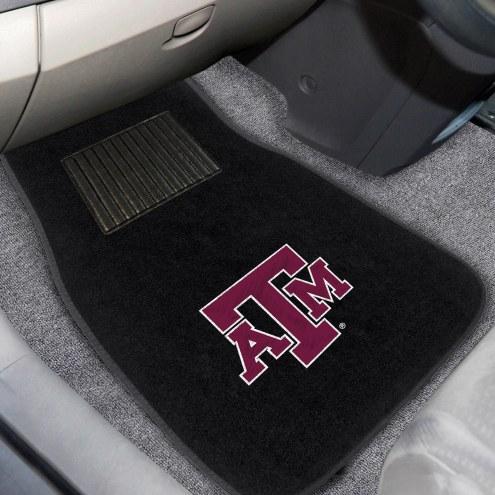 Texas A&M Aggies Embroidered Car Mats