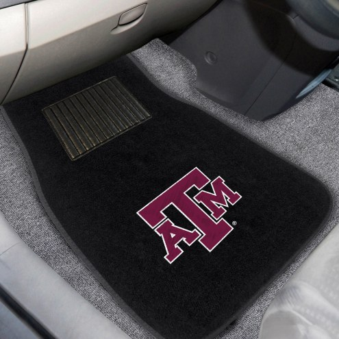 Texas A&M Aggies Embroidered Car Mats