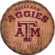 "Texas A&M Aggies Established Date 24"" Barrel Top"