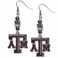 Texas A&M Aggies Euro Bead Earrings