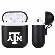 Texas A&M Aggies Fan Brander Apple Air Pods Leather Case