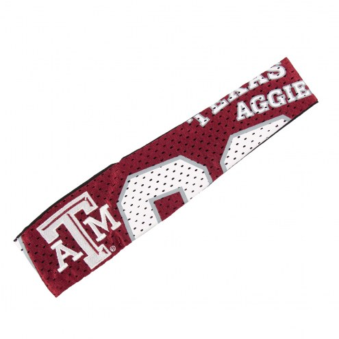 Texas A&M Aggies FanBand Jersey Headband