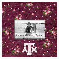 """Texas A&M Aggies Floral 10"""" x 10"""" Picture Frame"""