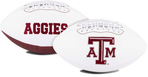 Texas A&M Aggies Full Size Embroidered Signature Series Football