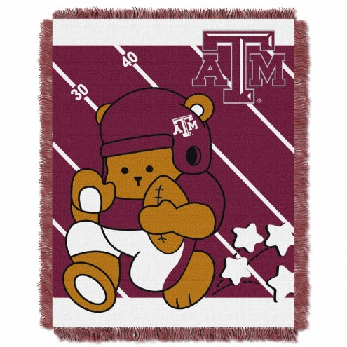 Texas A&M Aggies Fullback Baby Blanket
