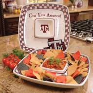 Texas A&M Aggies Gameday Chip N Dip Dish