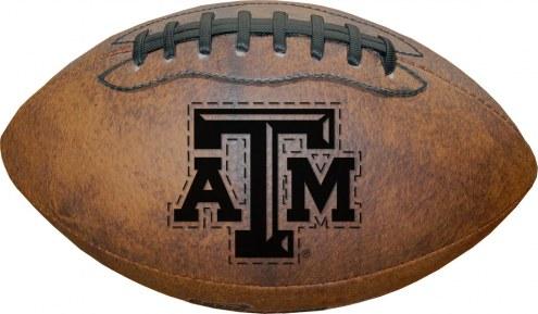 Texas A&M Aggies Vintage Throwback Football