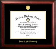 Texas A&M Aggies Gold Embossed Diploma Frame