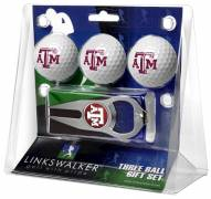 Texas A&M Aggies Golf Ball Gift Pack with Hat Trick Divot Tool