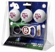 Texas A&M Aggies Golf Ball Gift Pack with Key Chain