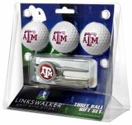 Texas A&M Aggies Golf Ball Gift Pack with Kool Tool