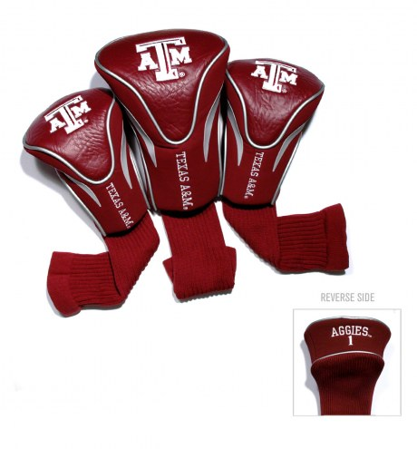 Texas A&M Aggies Golf Headcovers - 3 Pack