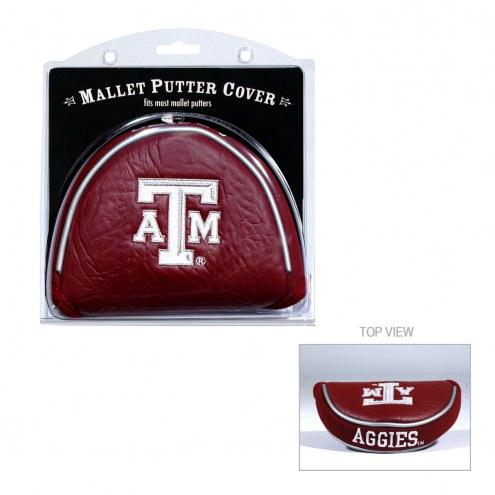Texas A&M Aggies Golf Mallet Putter Cover