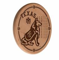 Texas A&M Aggies Laser Engraved Wood Sign