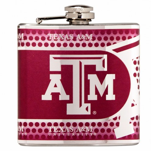 Texas A&M Aggies Hi-Def Stainless Steel Flask