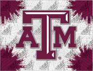Texas A&M Aggies Logo Canvas Print