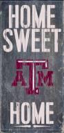 Texas A&M Aggies Home Sweet Home Wood Sign