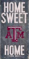 Texas A&M Aggies Home Sweet Home Wood Sign