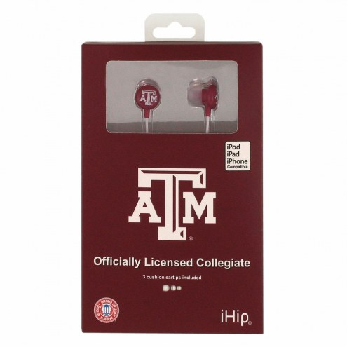 Texas A&M Aggies iHip Earbuds