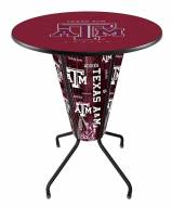 Texas A&M Aggies Indoor Lighted Pub Table