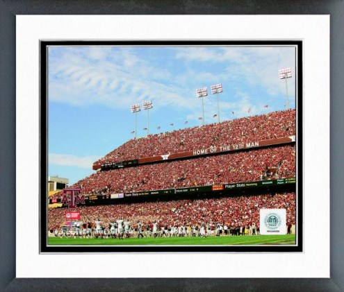 """Texas A&M Aggies Kyle Field """"Home of the 12th Man"""" 2006 Framed Photo"""