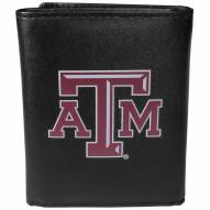 Texas A&M Aggies Large Logo Leather Tri-fold Wallet