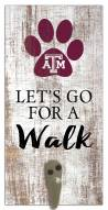 Texas A&M Aggies Leash Holder Sign