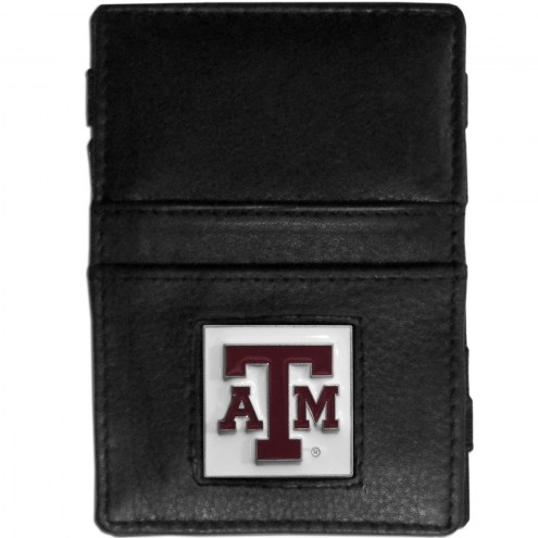 Texas A&M Aggies Leather Jacob's Ladder Wallet