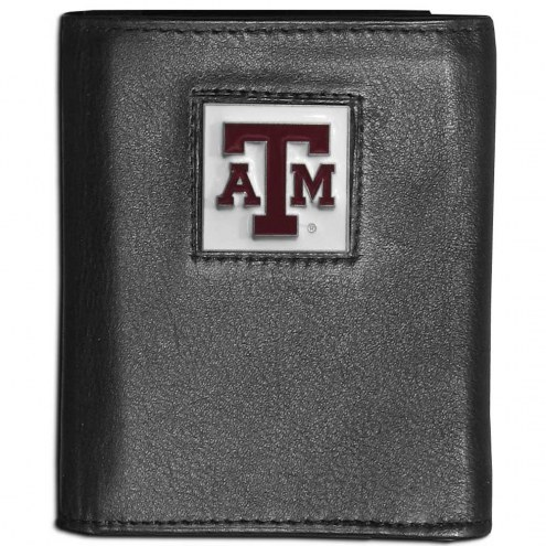 Texas A&M Aggies Leather Tri-fold Wallet