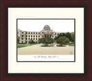 Texas A&M Aggies Legacy Alumnus Framed Lithograph